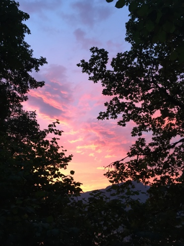 2015-08-10 20.29.35breathtaking colors of cloudsat sunset from Gorge trail